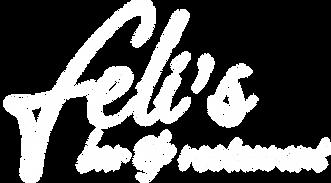 Feli's logo white