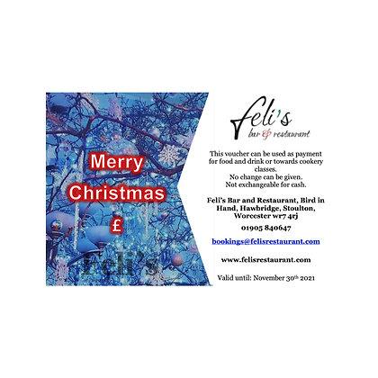 £50 Digital gift voucher