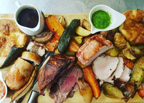 Sunday lunch platter