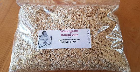 Wholegrain rolled oats