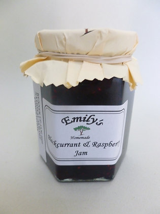 Black currant and raspberry jam by Emily's jams and pickles