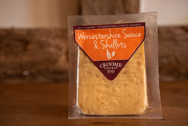 Worcestershire sauce and shallots cheese from Croome Cuisine