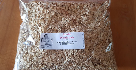 Jumbo whole oats