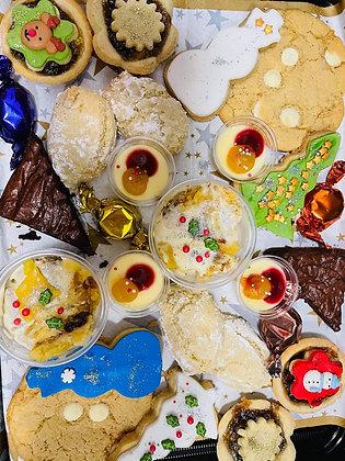 Xmas sweet platter
