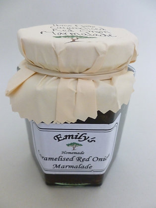 Caramelised red onion marmalade by Emily's jams and pickles