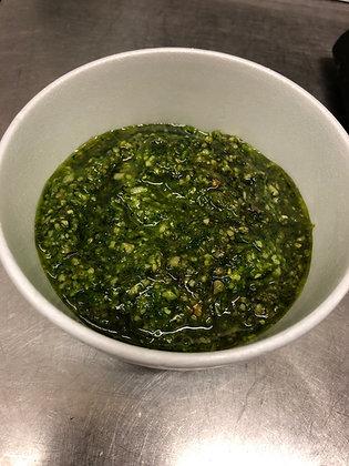 Pesto (sunflower seeds) sauce