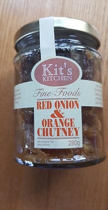 Red onion & orange chutney from Kit's Kitchen