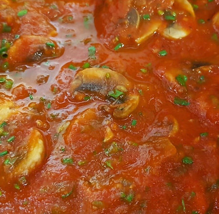 Pasta and sauce offer