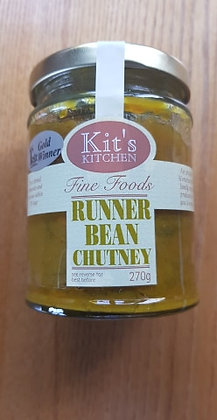 Runner bean chutney from Kit's Kitchen 270g