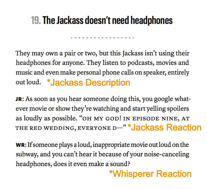 Jackass Whisperer Chapter