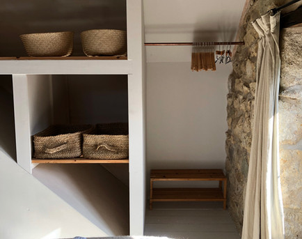 Storage in the double room
