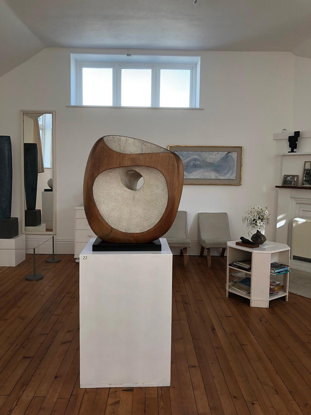 sculpture Barbara Hepworth Tate St Ives Cornwall British art