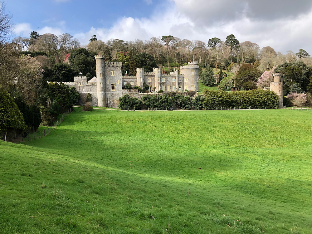 Caerhays Castle in Cornwall