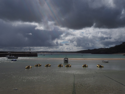 Stormy skies over St Ives
