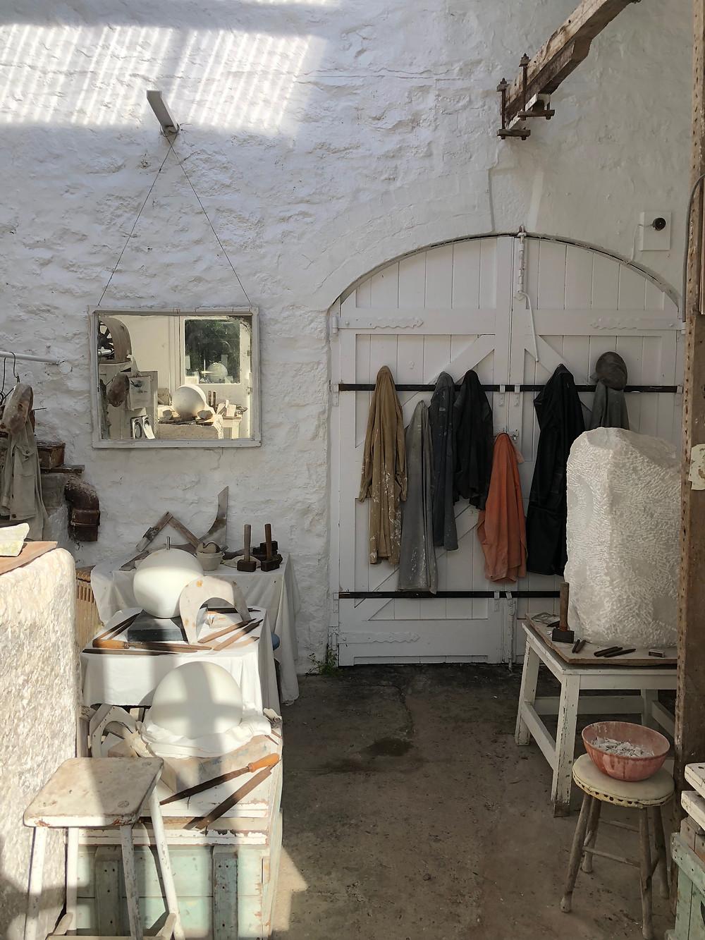 Barbara Hepworth, Barbara Hepworth Museum and Sculpture Garden, Tate St Ives, Tate, British art, artist's studio, sculpture