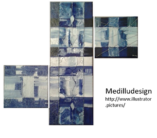 Medilludesign Abstract Painting