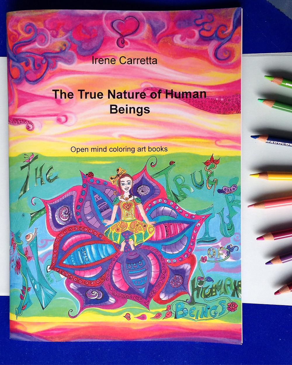 Coloring book The true nature of human beings