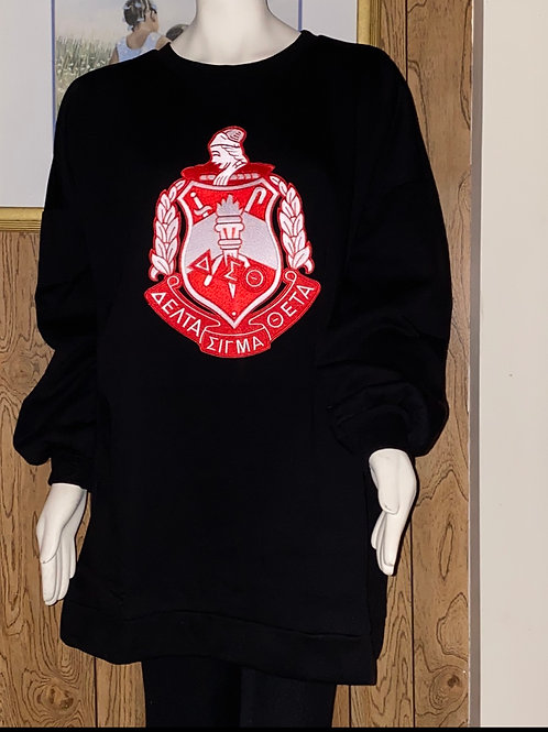 DST-S TUNIC LONG SLEEVE SWEATSHIRT