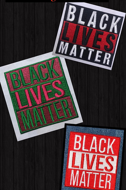 BLM Embroidery Patches
