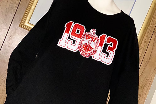 1913 DST TUNIC LONG SLEEVE SWEATSHIRT