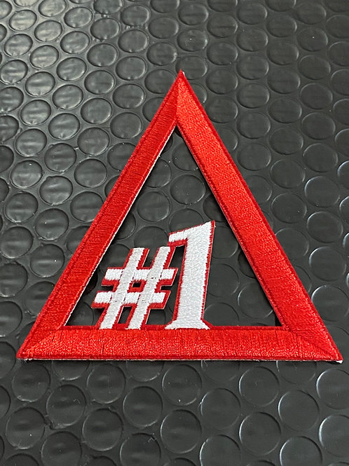 Delta Line Number Embroidery Patches #1 - #20