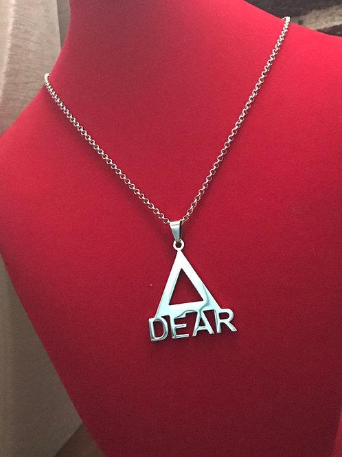Delta Dear Stainless Steel Necklace Set