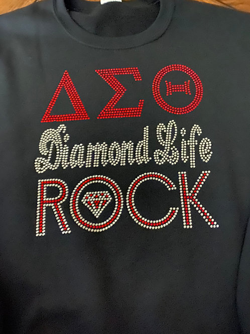 DST Diamond Life Rock Sweatshirt