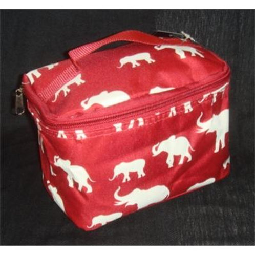 Cosmetic Bag Elephant Print