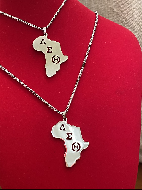 DST Africa Silver Stainless Steel Pendant
