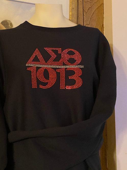 DST - 1913 Black Sweatshirt