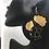 Thumbnail: Afro Wrap Wooden Earrings