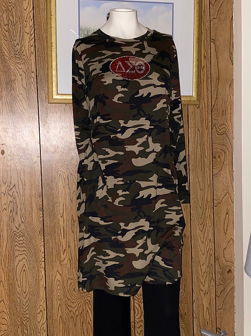 Camouflage Dress Rhinestone DST or 1913