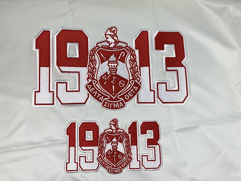1913 DST Fully Embroidered Patch