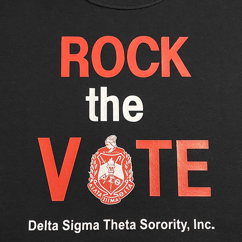 Rock the Vote DST Short Sleeve T-Shirt