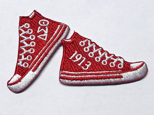 Delta Sneakers Fully Embroidered Patch