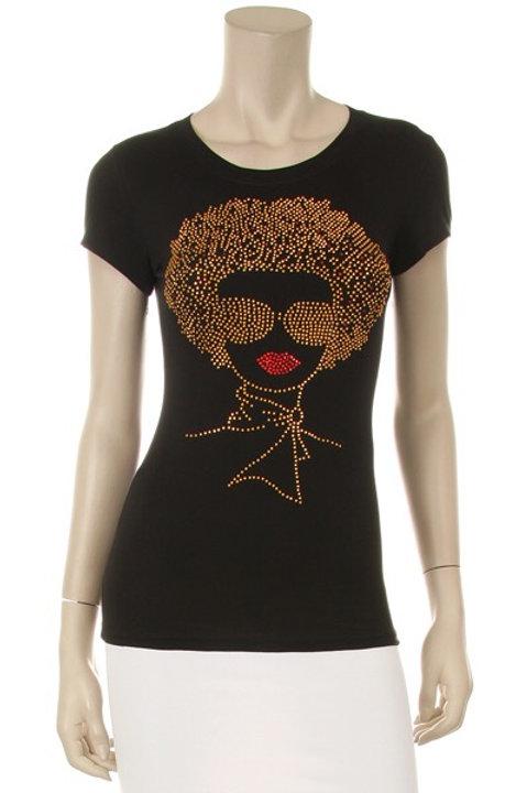 Afro Diva in Sunglasses