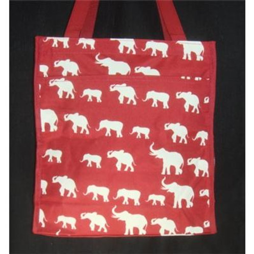 Tote Bag Elephant Prints
