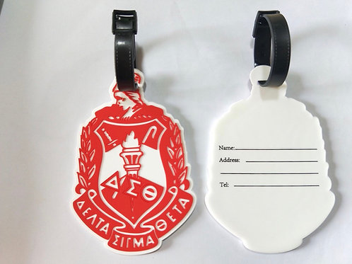 DST Luggage Tag - Soft PVC