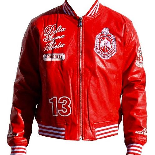 Delta Faux Leather Jacket
