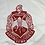 Thumbnail: DST Crest Fully Embroidered Iron-on Patch
