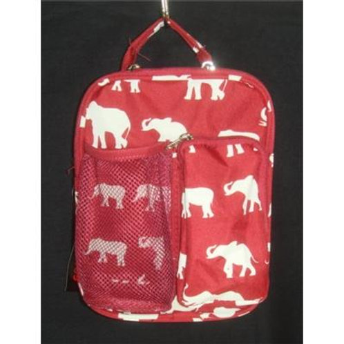 Elephant Print Accessory Bags