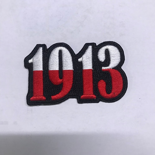 1913 Fully Embroidered Patch
