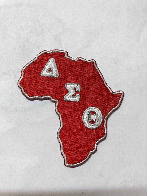 Africa DST Embroidery Patch