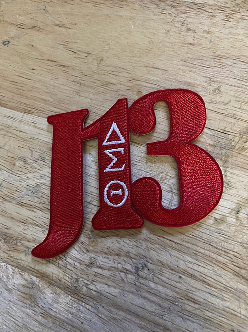 J13 DST Embroidery Patch