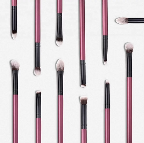 BORGOÑA ULTIMATE EYE BRUSH SET WITH WRISTLET POUCH❣