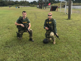 Deputies Daenen and Null Graduate SWAT School