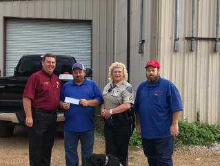 Local Business Donates to Help GPSO DARE Program