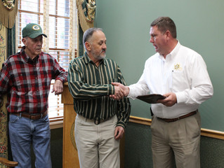 Retirement Celebration Held for Dale Whitstine