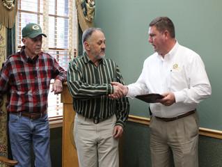 Retirement Celebration Held for Dale Whitstine