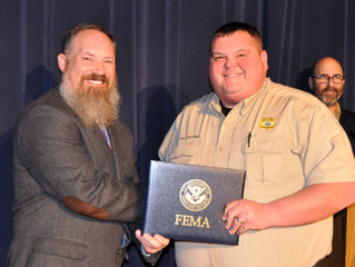 Deputy Cade Fletcher Graduates National Emergency Management Basic Academy